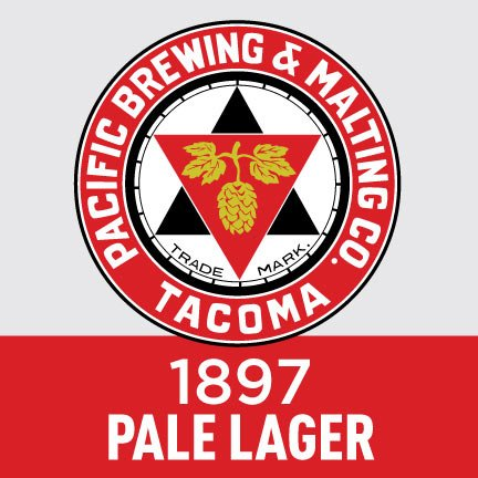 Pacific Brewing & Malting Co. 1897 Pale Lager