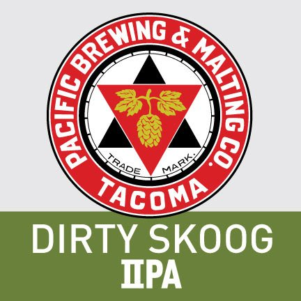 Pacific Brewing & Malting Co. Dirty Skoog IPA