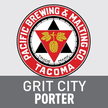 Pacific Brewing & Malting Co. Grit City Porter