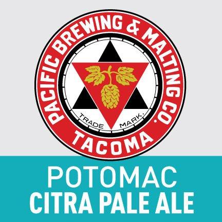 Pacific Brewing & Malting Co. Potomac Citra Pale Ale